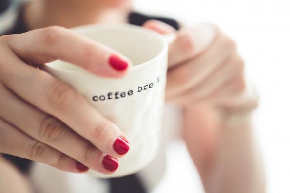 Pause café pour stress quotidien